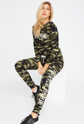 Soft Graphic Drawstring Jogger