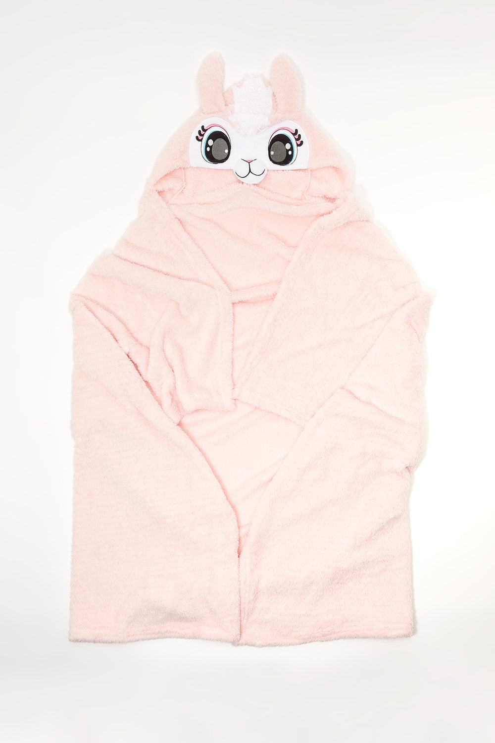 Character Hooded Blanket Rose