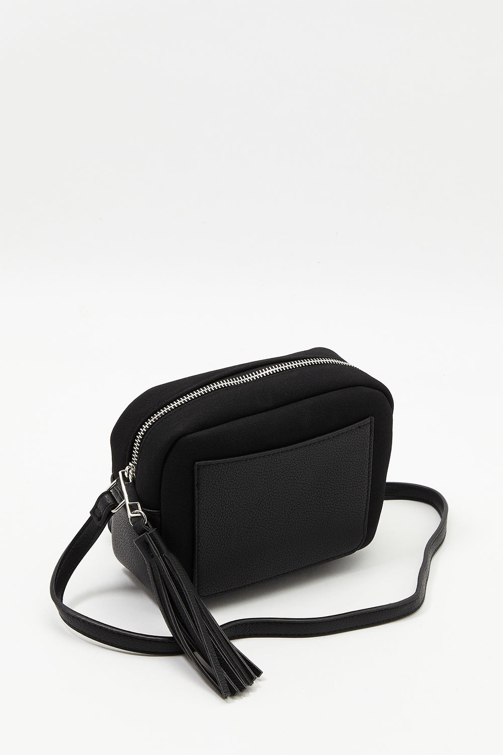 Tassel Crossbody Bag Black