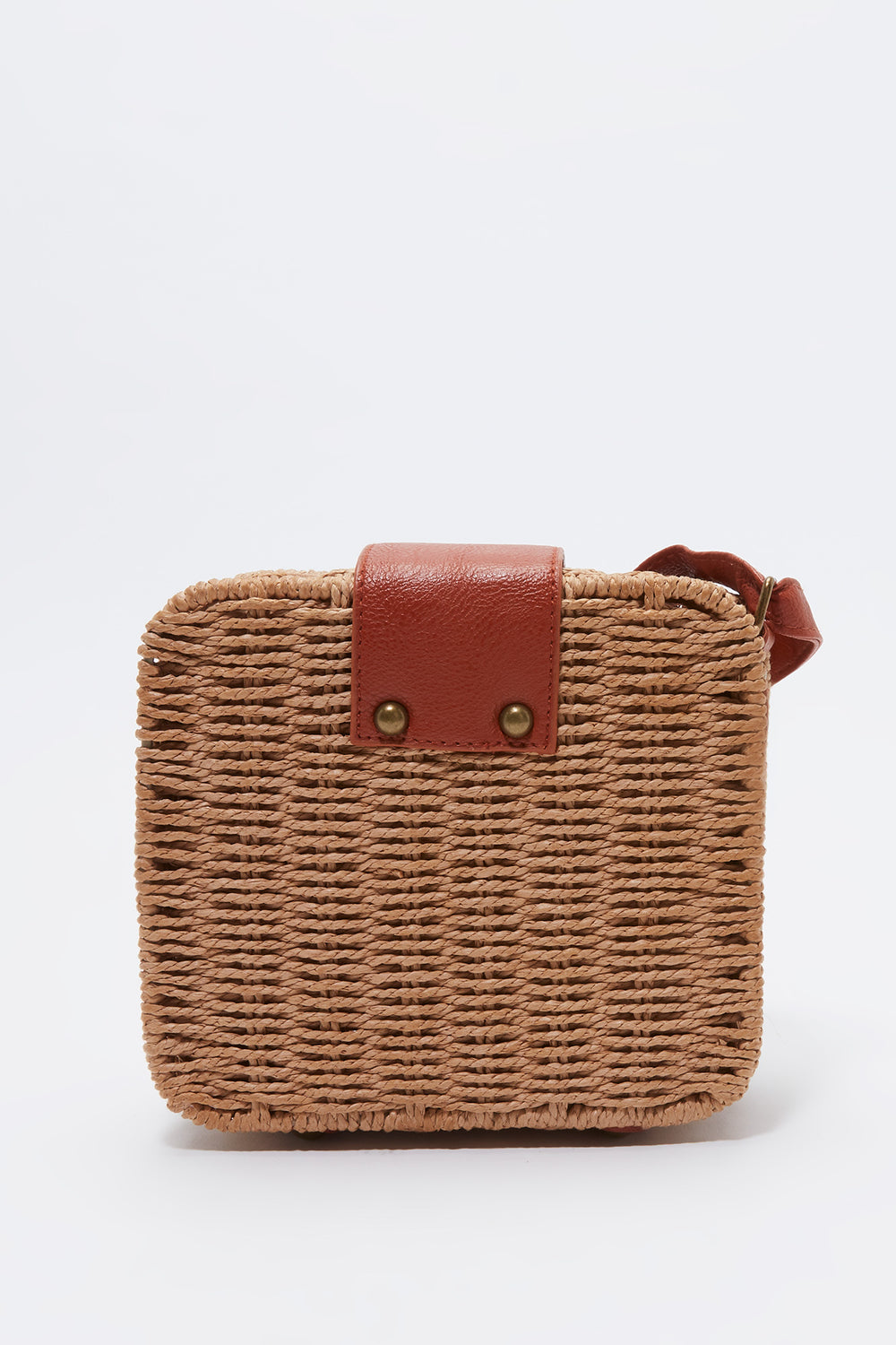 Box Wicker Bag Natural