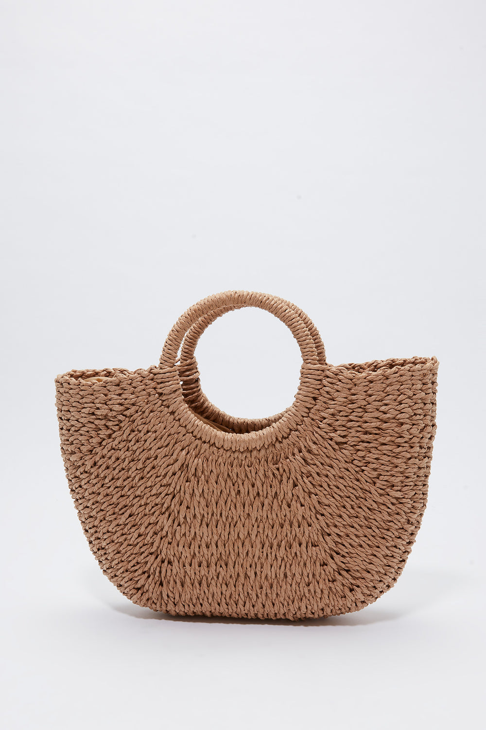 Wicker Shoulder Bag Natural