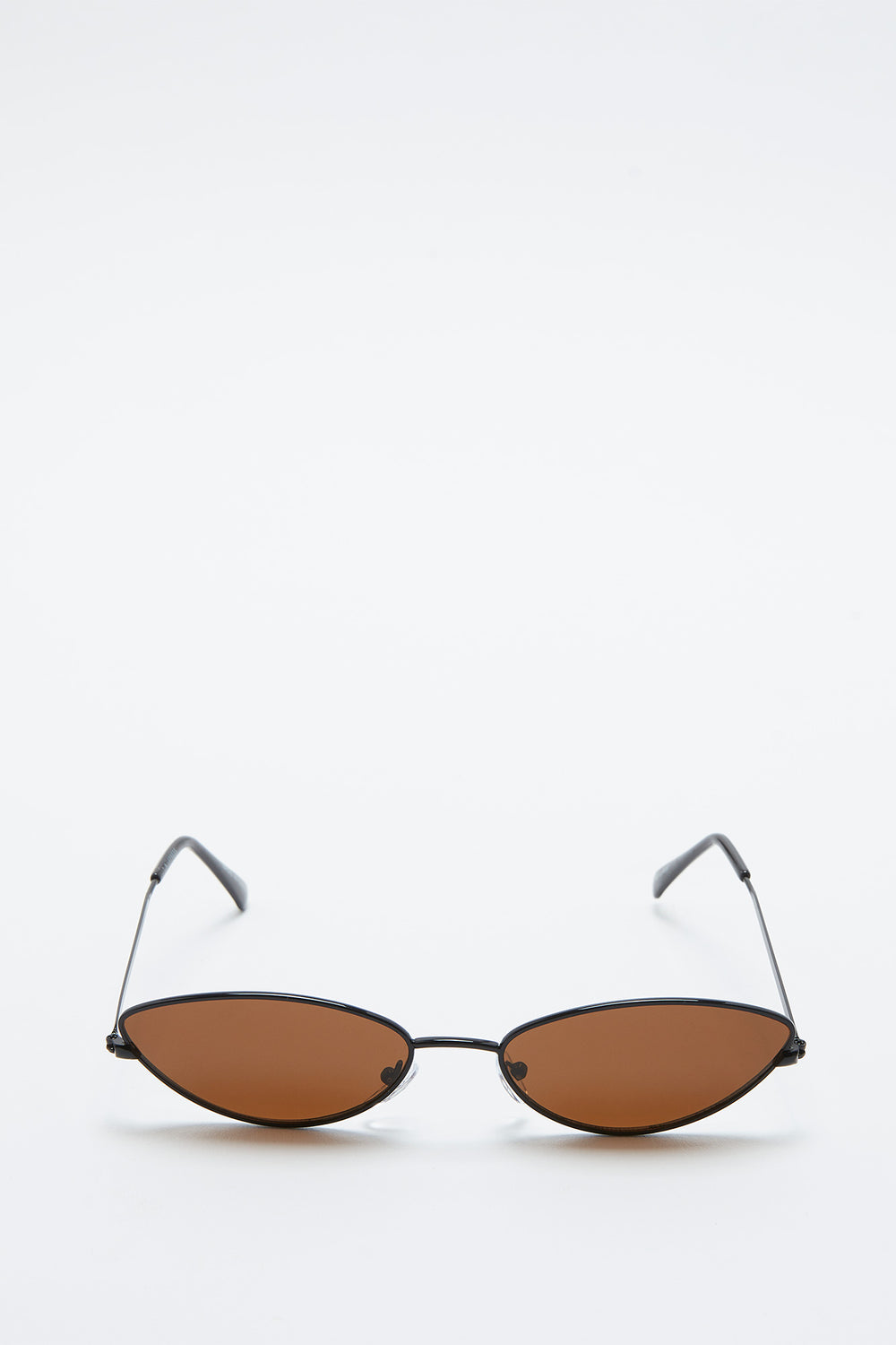 Micro Metal Cat Eye Sunglasses Pink