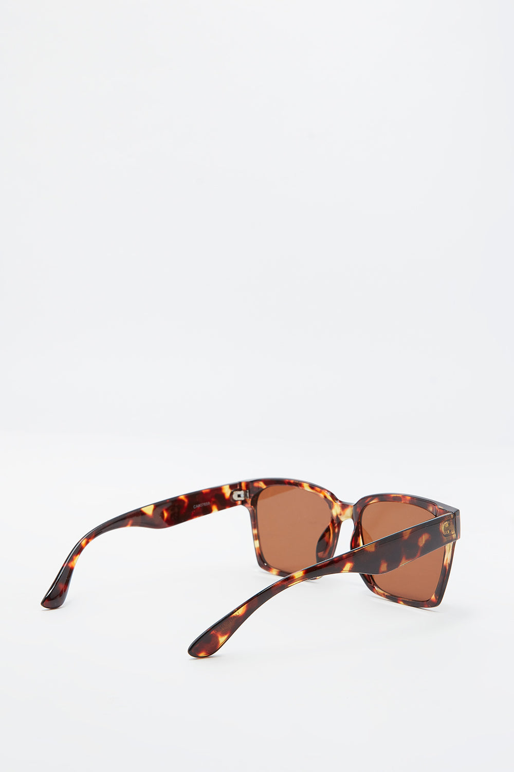 Oversized Square Frame Sunglasses Medium Brown