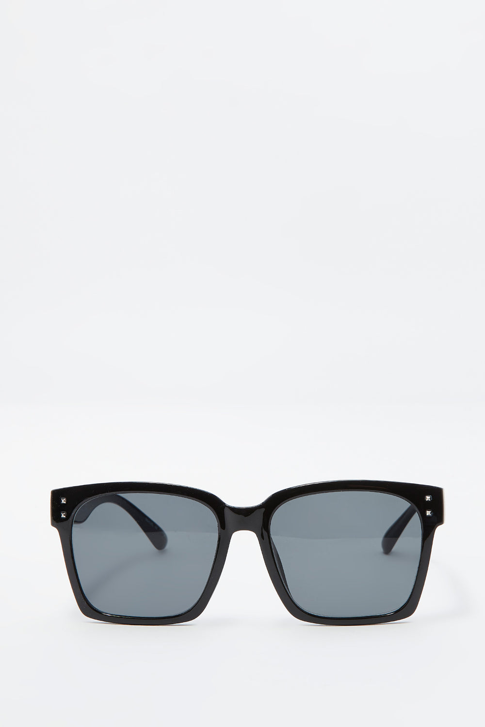 Oversized Square Frame Sunglasses Black