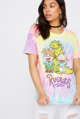 Tie Dye Graphic Rugrats T-Shirt
