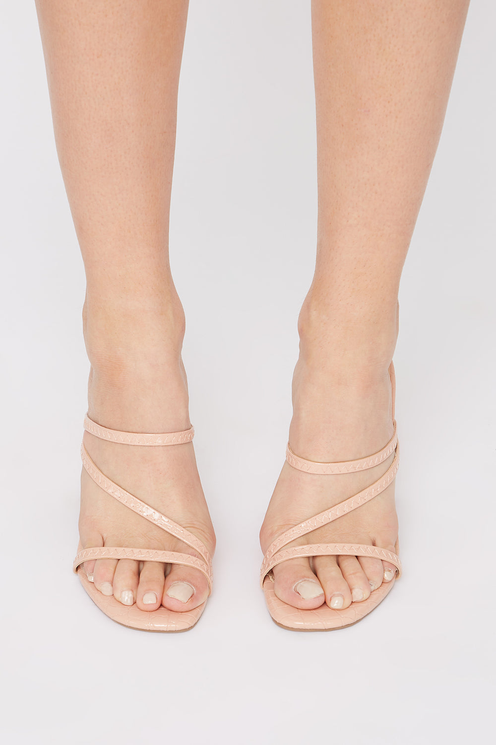 Strappy Mule Light Pink