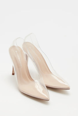 Clear Stiletto Pump