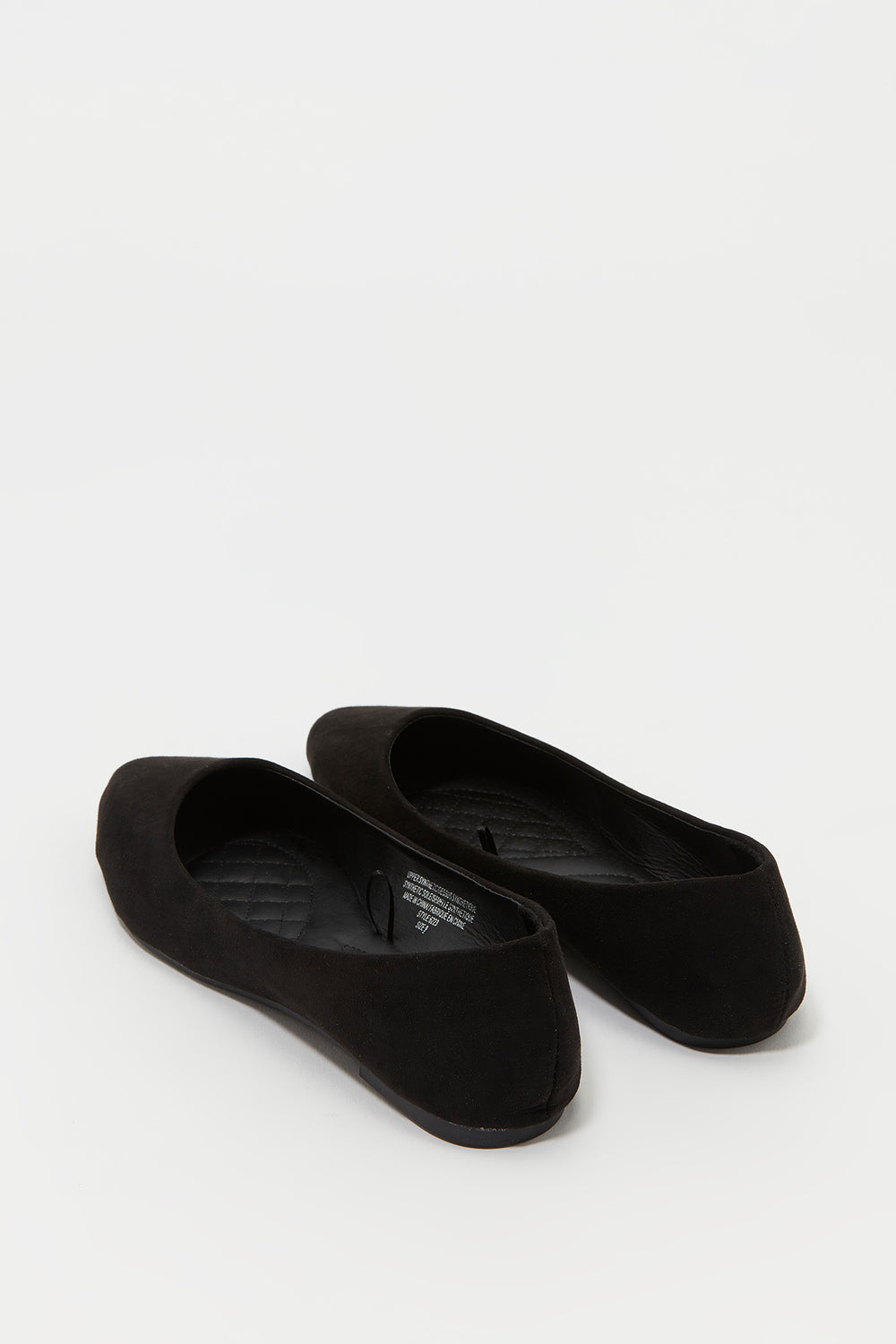 Pointed Ballerina Flat Black