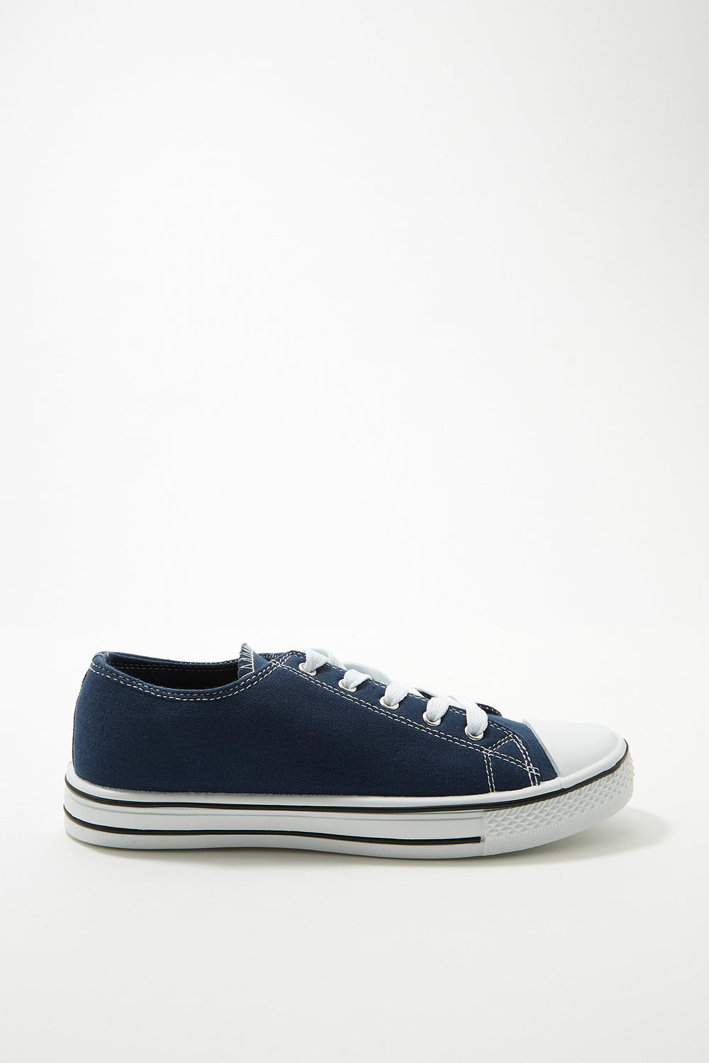 Women Shoes Classic Canvas Lace-Up Sneaker Navy