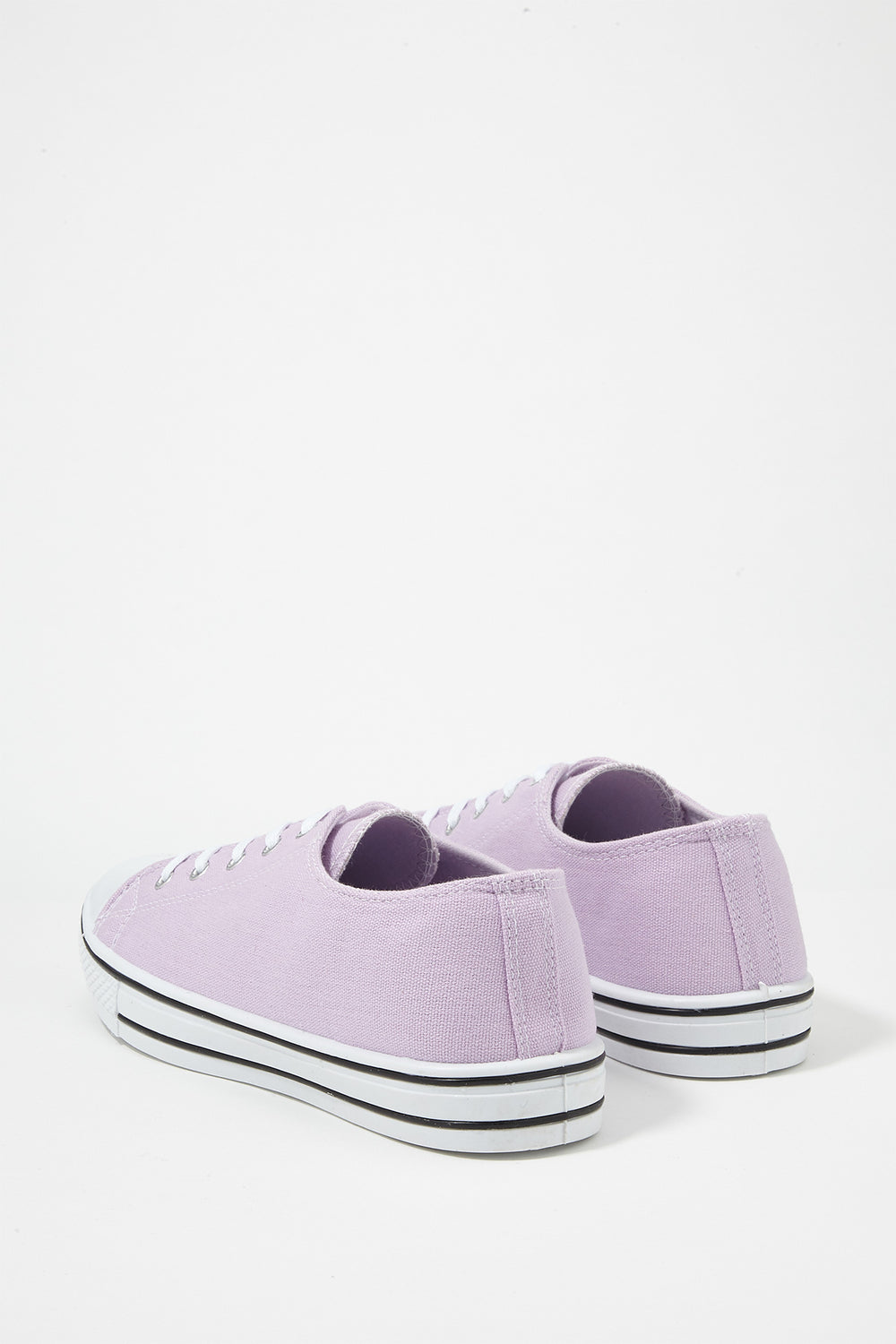 Women Shoes Classic Canvas Lace-Up Sneaker Lilac