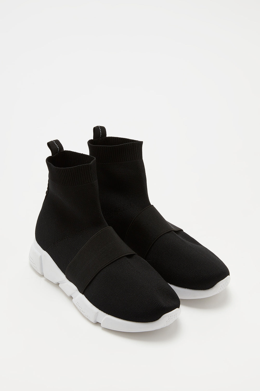 Laceless Sock Sneaker Black