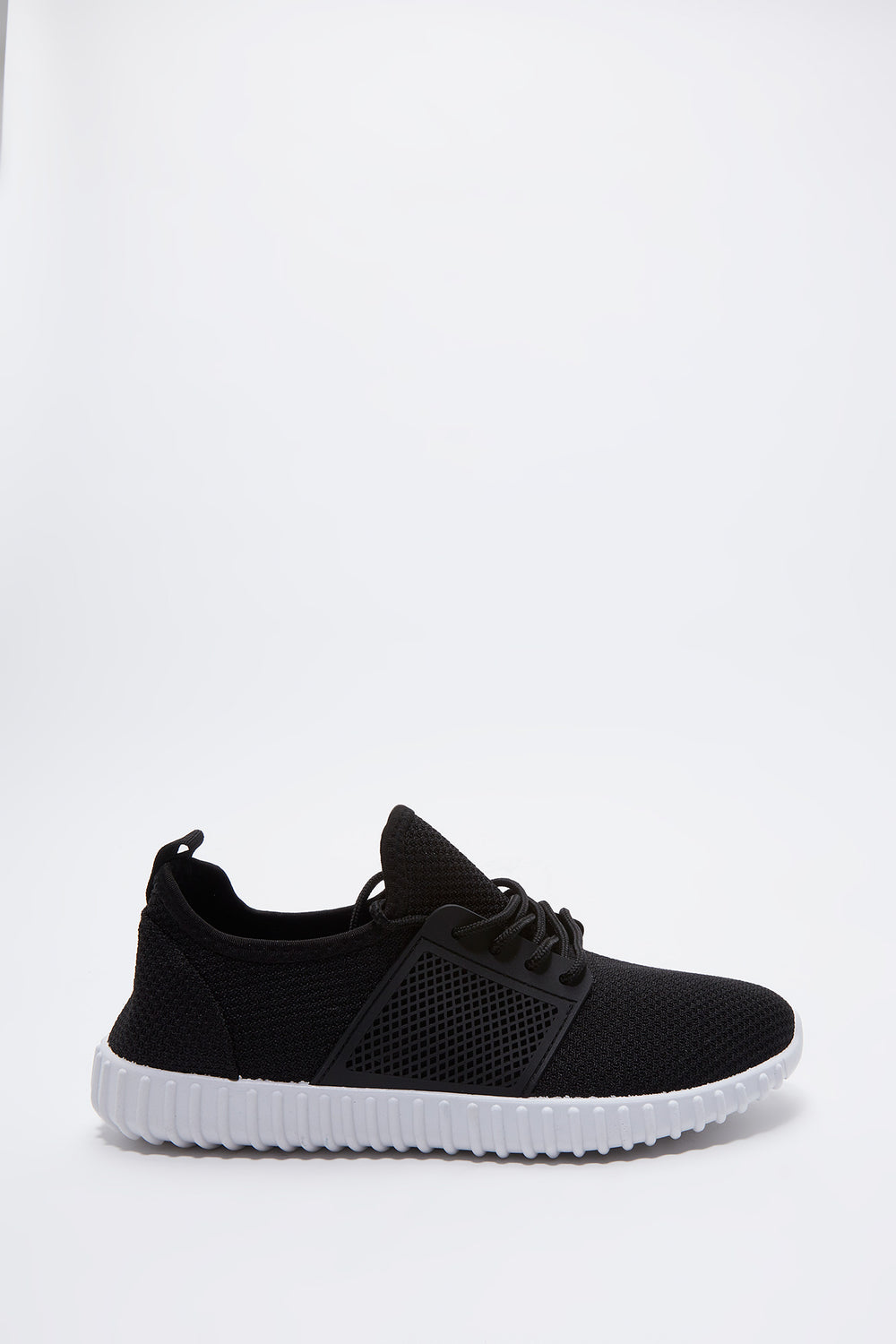 Solid Knit Sneaker Black