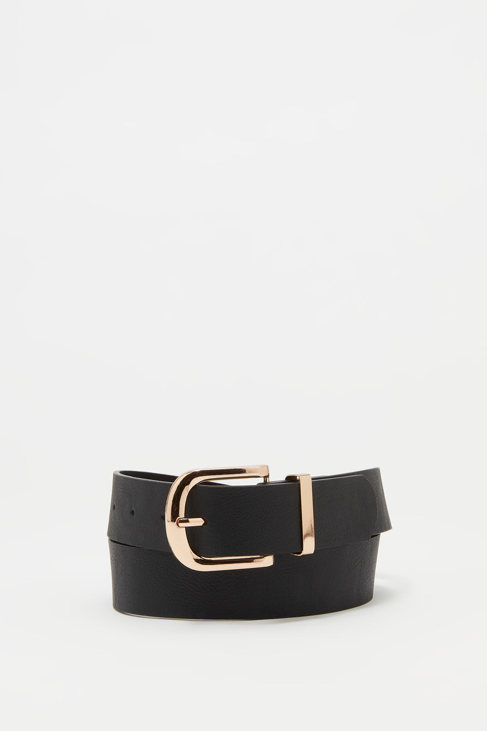 Basic Buckle Belt Black