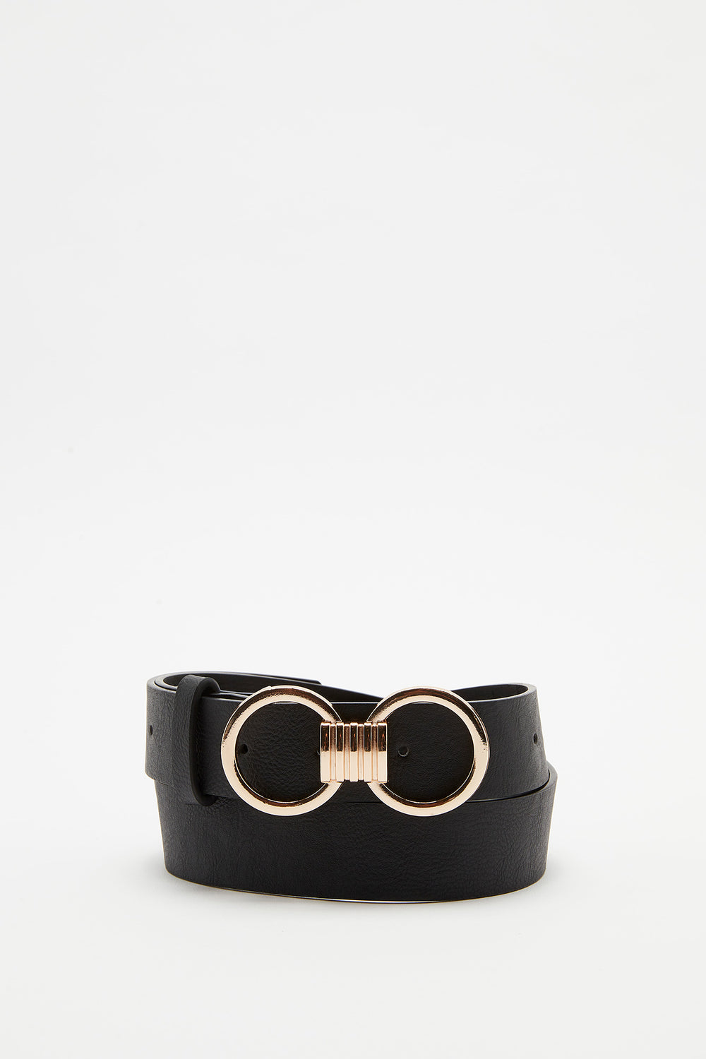 Double Circle Belt Black