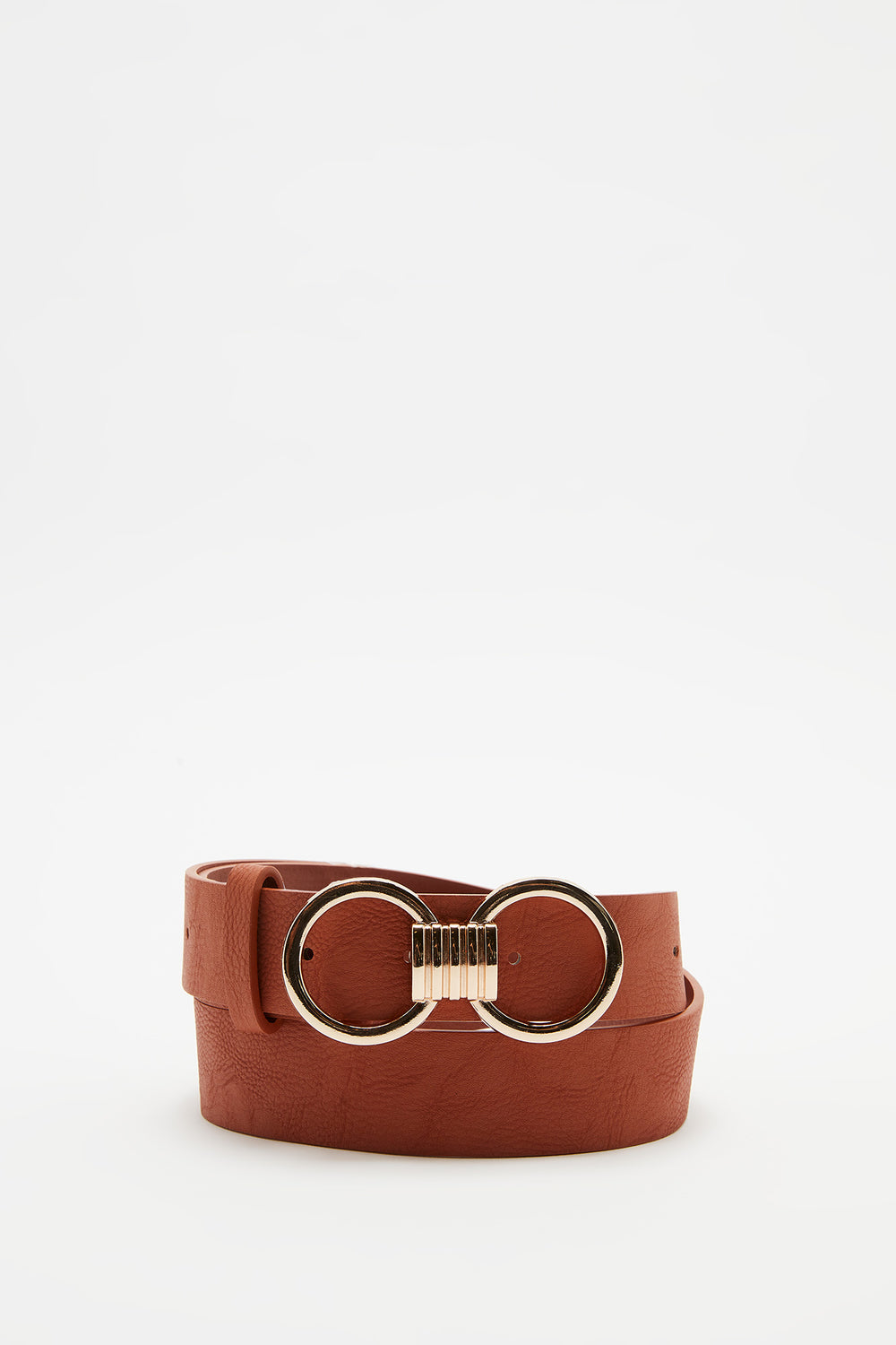 Double Circle Belt Camel