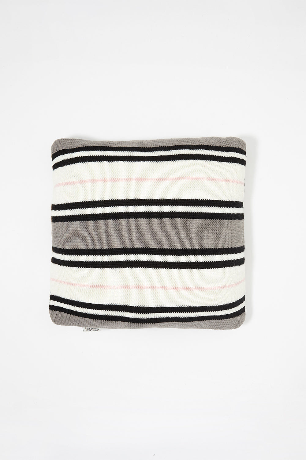 Striped Knit Pillow Multi