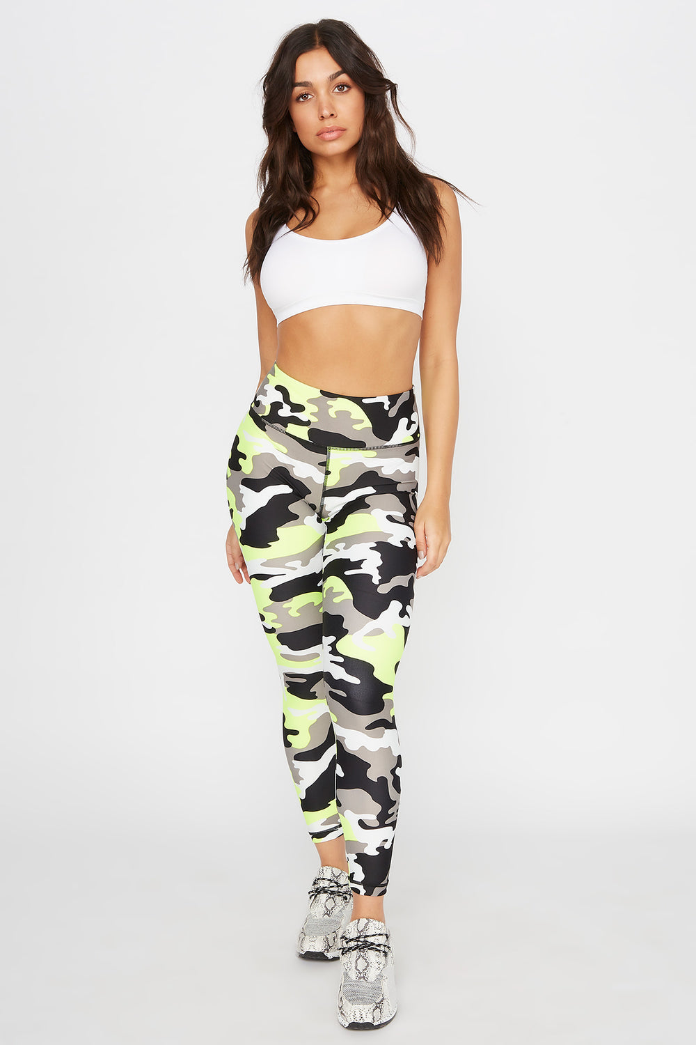 Infinite High-Rise Pocket Active Legging Camouflage