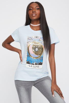 Graphic Tarot Card T-Shirt