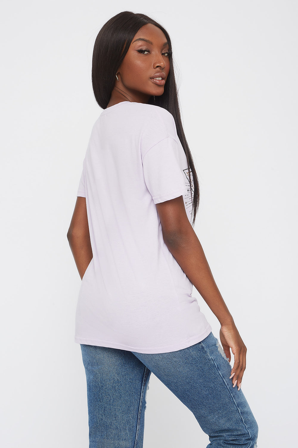 Mystic Graphic T-Shirt Lilac