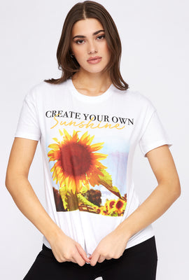 Create Your Own Sunshine Graphic T-Shirt