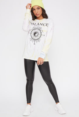 Tie-Dye Graphic Mystic Long Sleeve