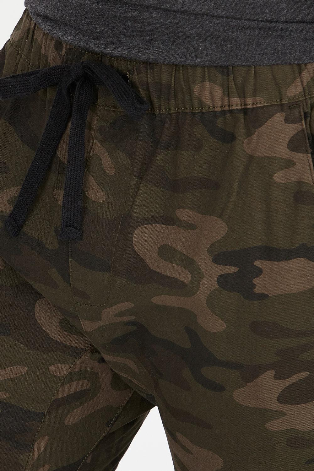 Camo Drawstring Jogger Camouflage