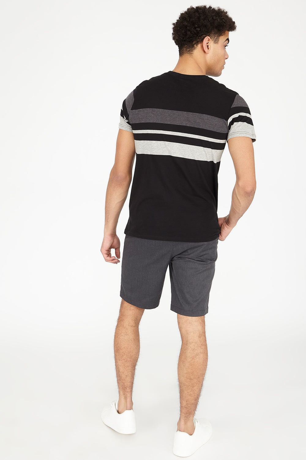 Solid Street Short Dark Grey