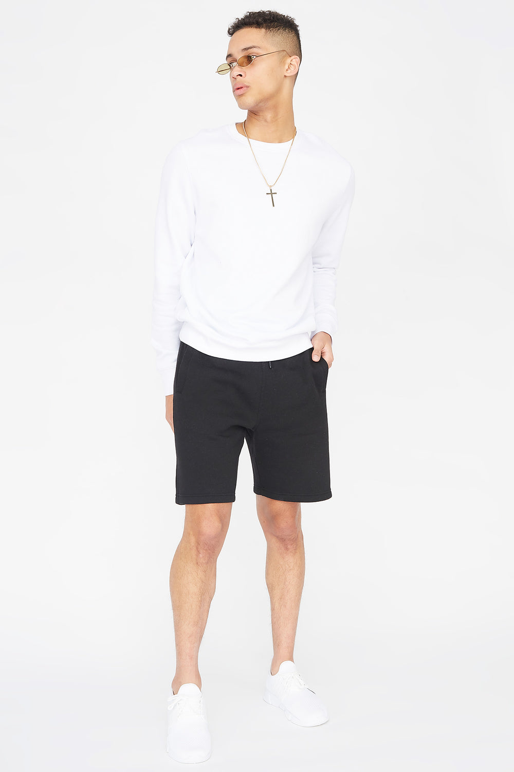 Fleece Everyday Basic Short Black