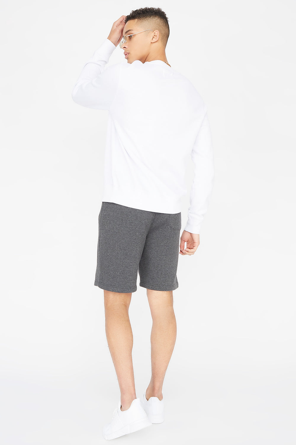 Fleece Everyday Basic Short Charcoal