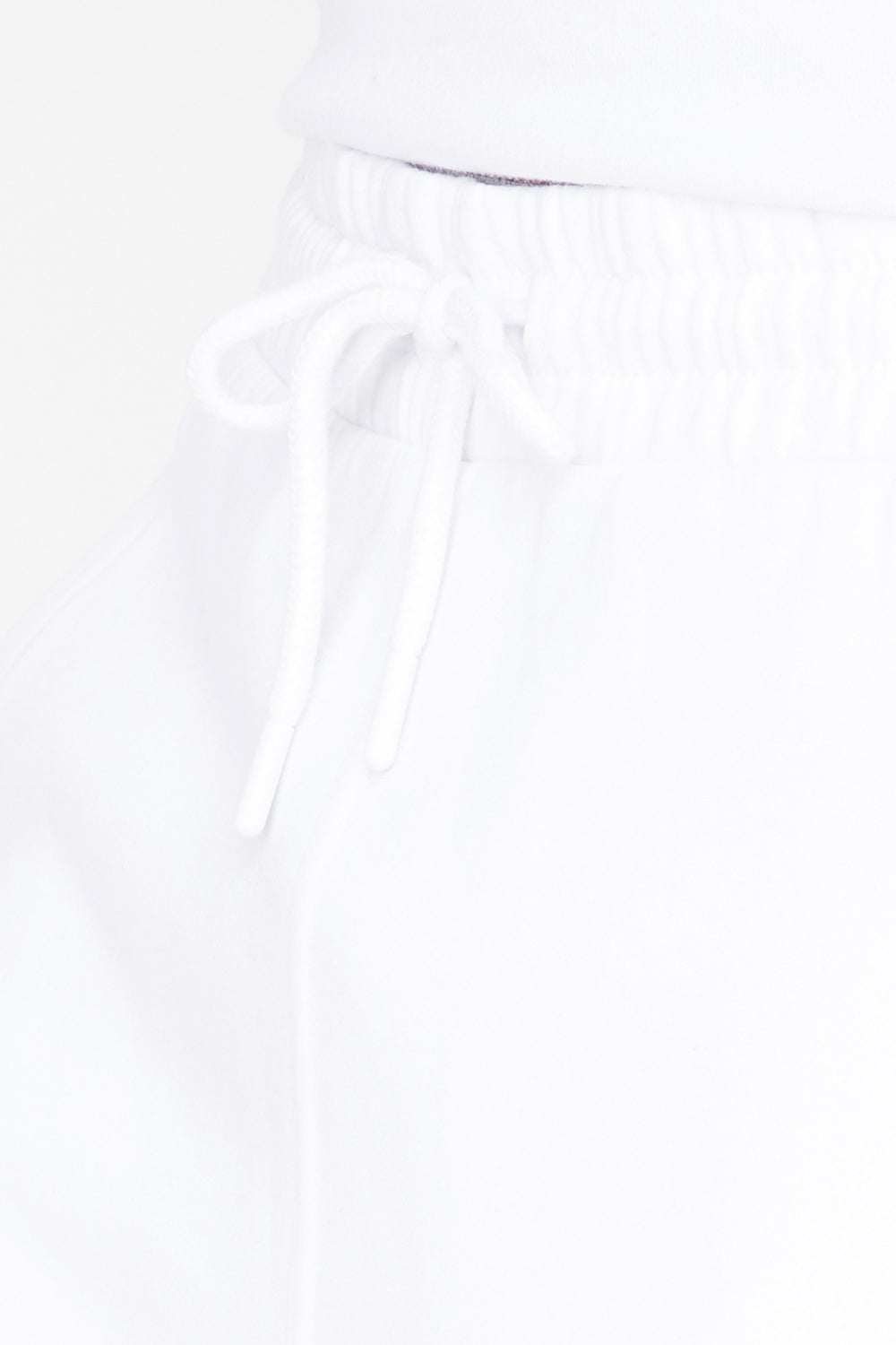 Fleece Everyday Basic Short White