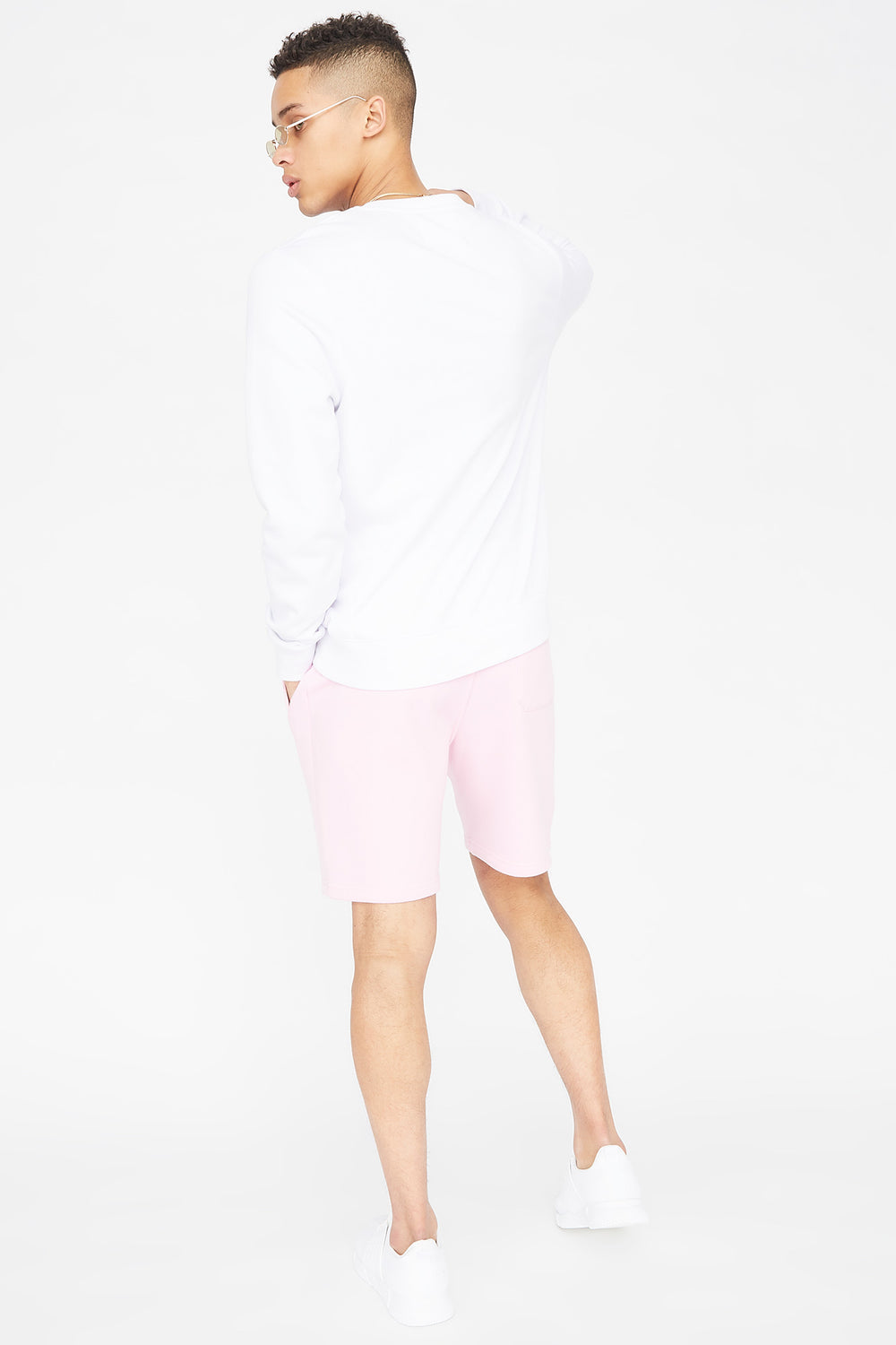 Fleece Everyday Basic Short Light Pink