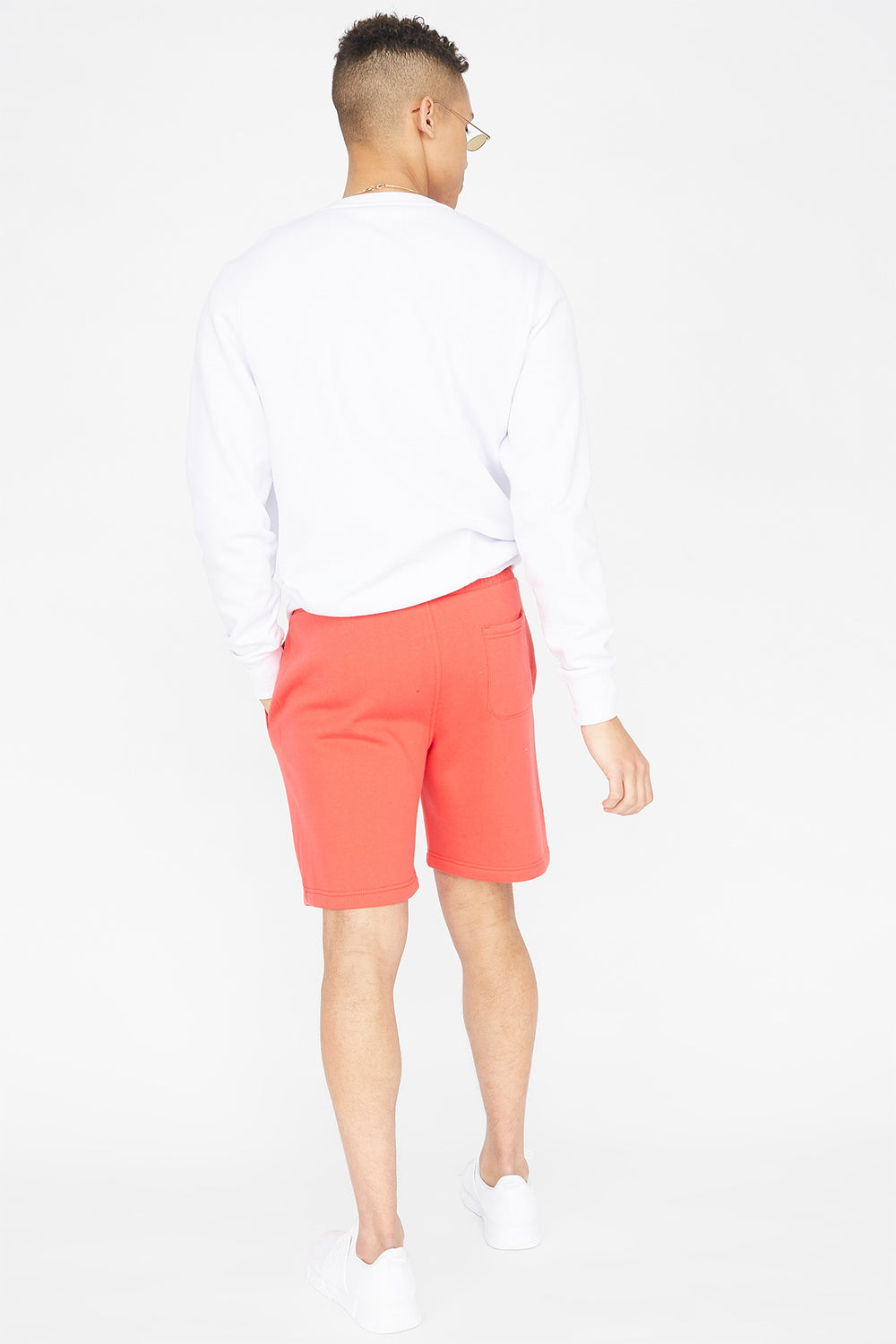 Fleece Everyday Basic Short Bright Red