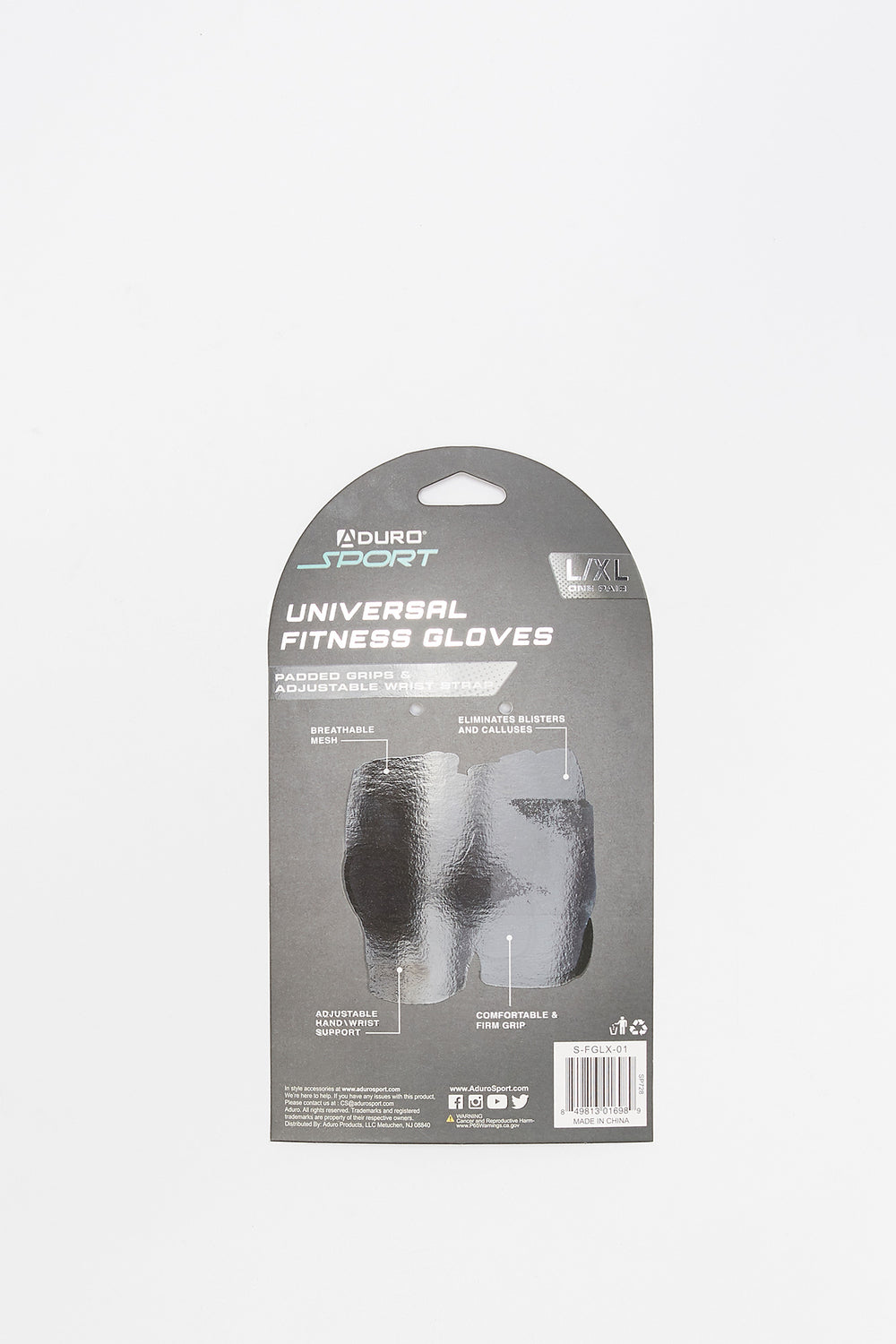 Universal Fitness Gloves Black