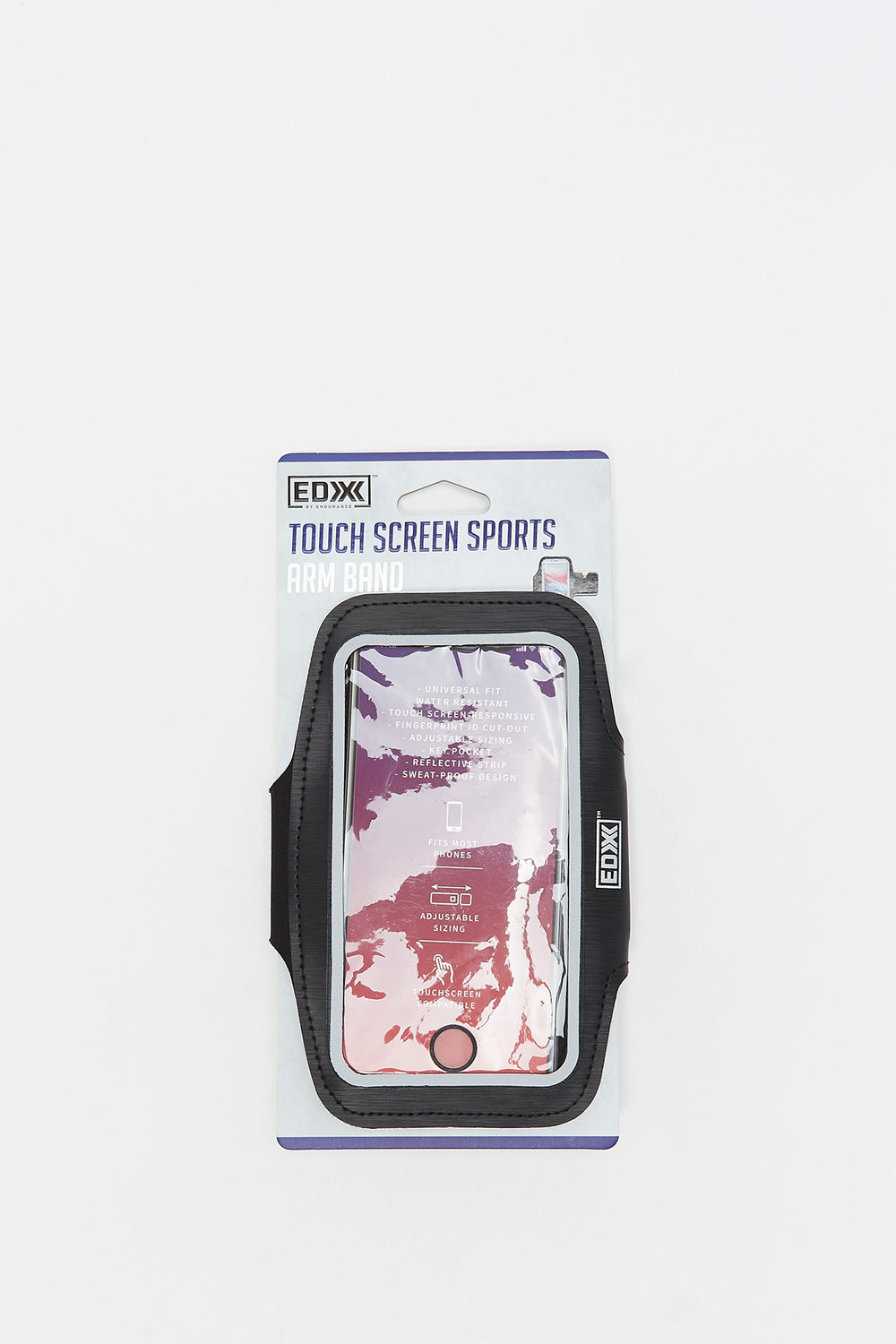 Touch Screen Sports Arm Band Black