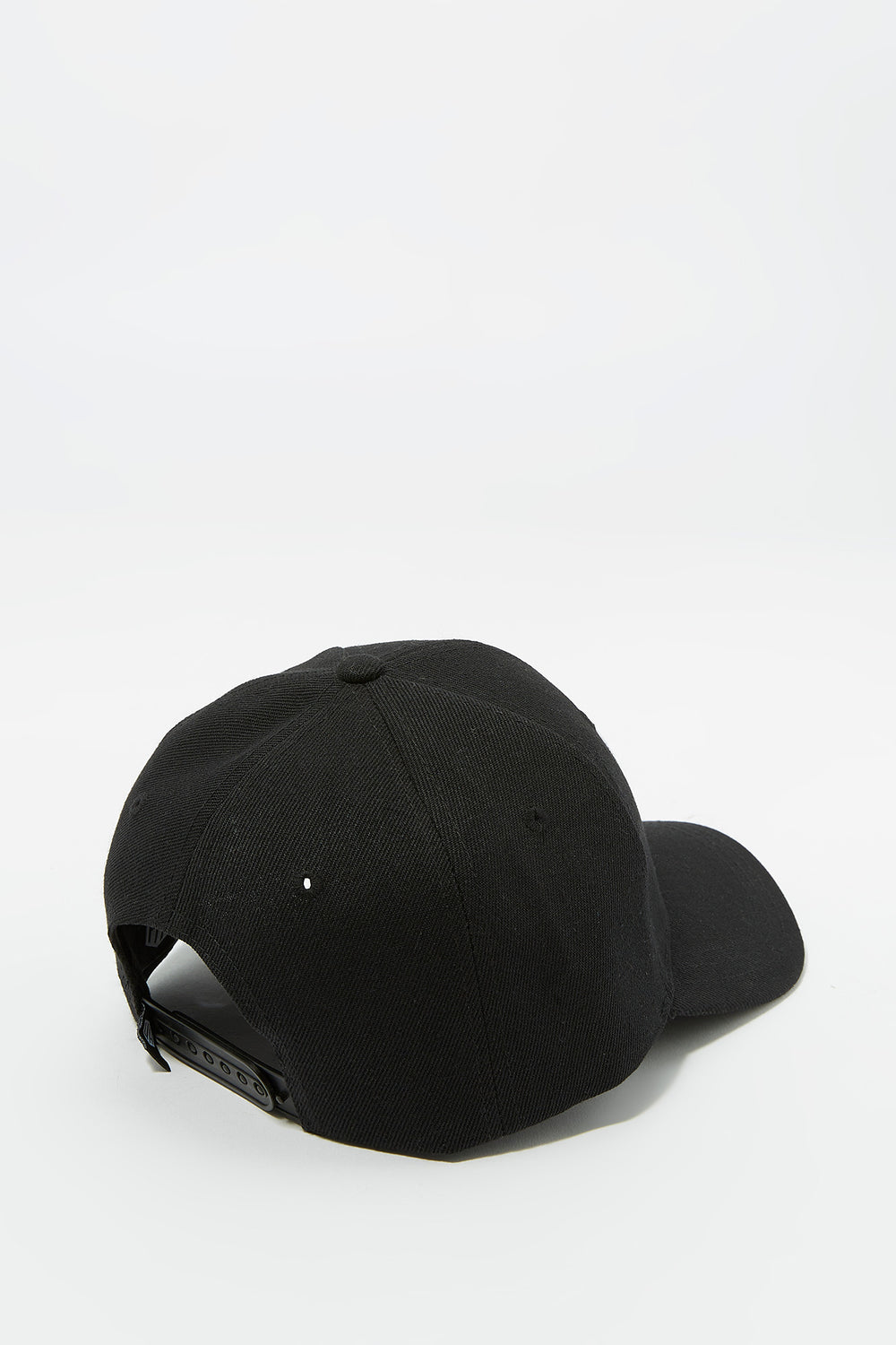 NASA Snapback Baseball Cap Black
