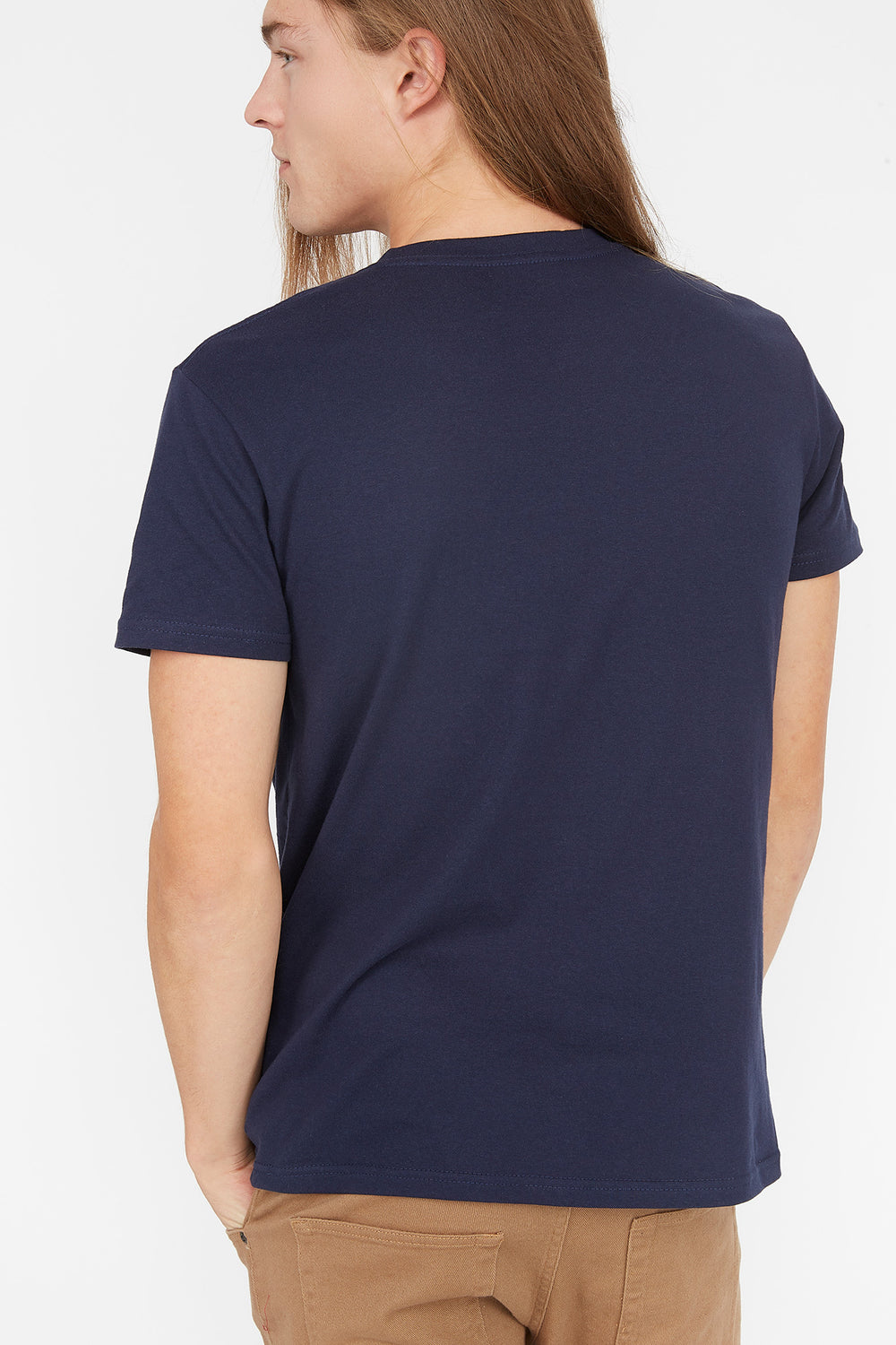 User Offline Graphic T-Shirt Navy