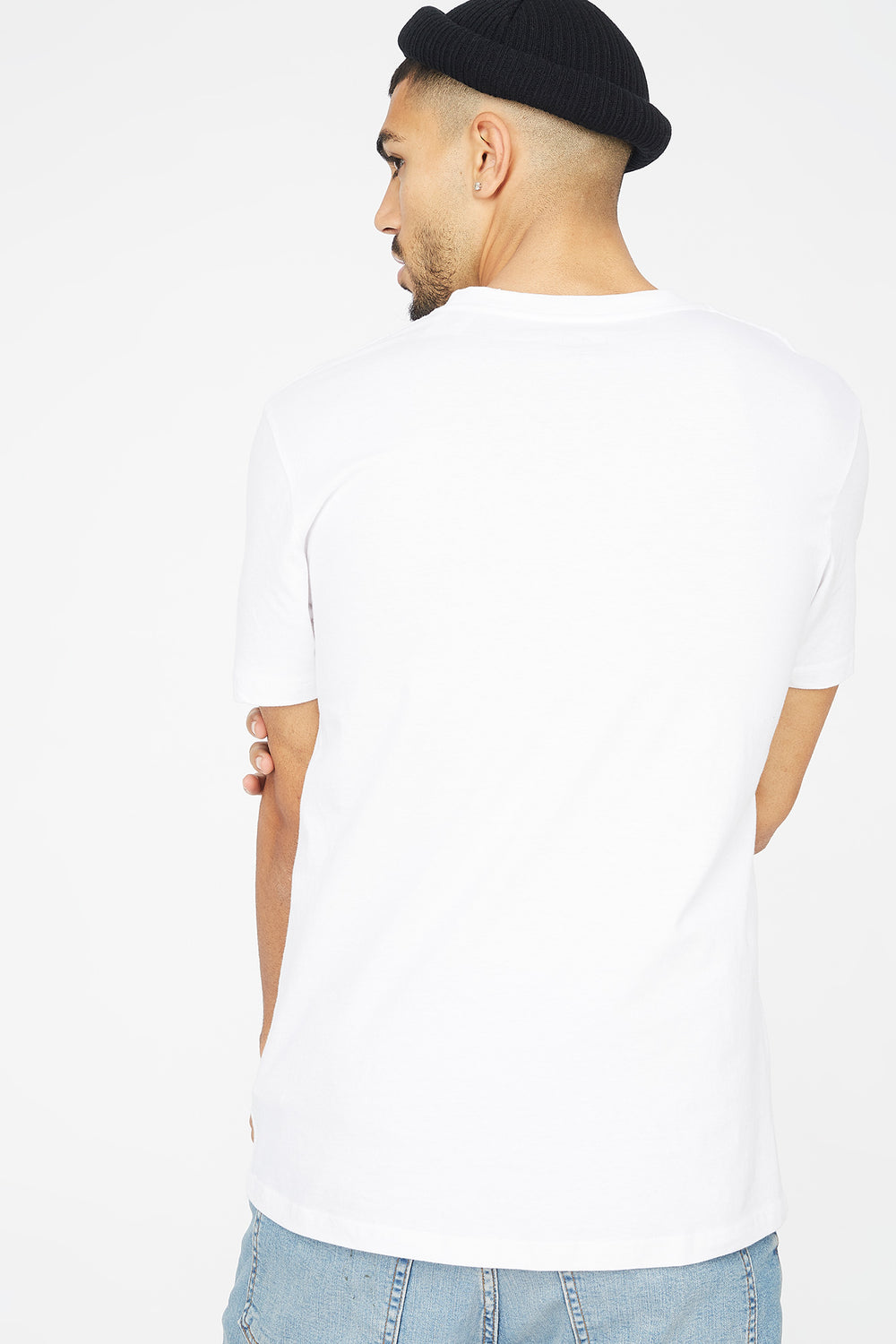 Urban Downtown New York Graphic T-Shirt White