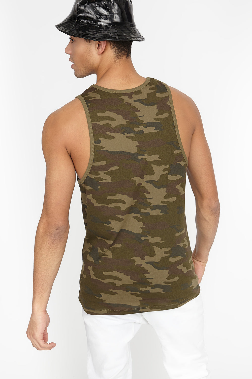 Camo 100 Graphic Tank Camouflage