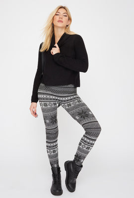 Leggings Estampados de Lana