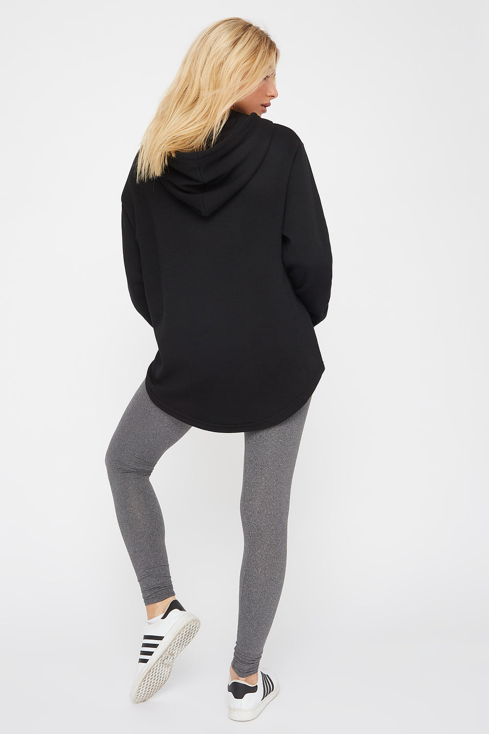 Basic Soft Legging Heather Grey