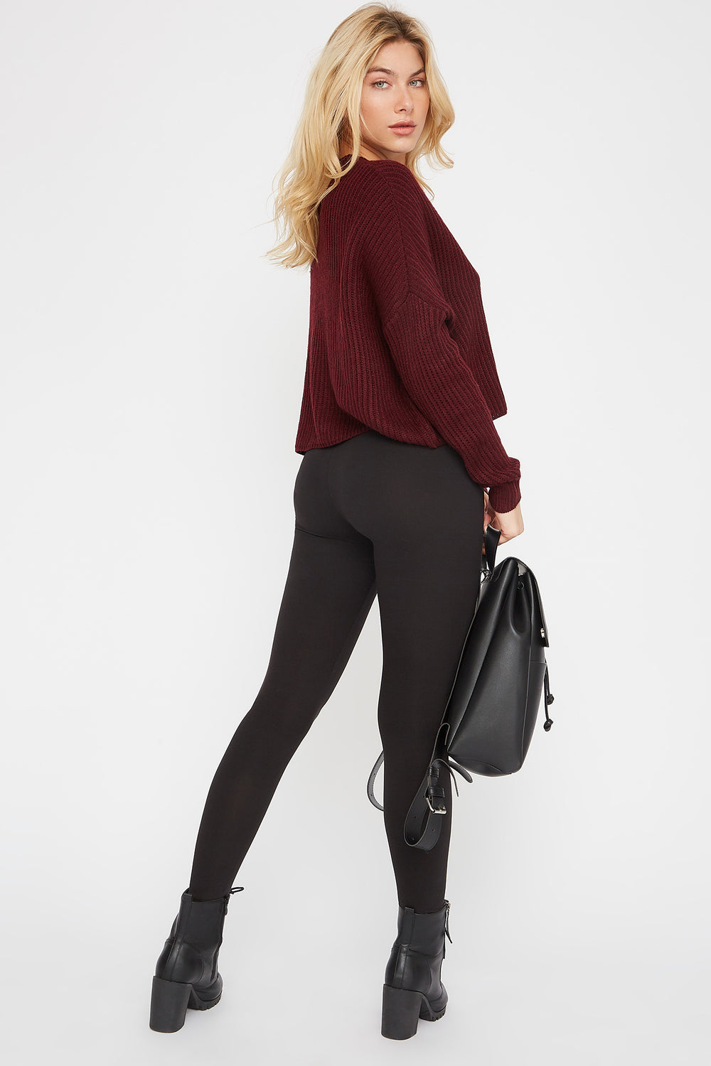 Soft Basic Legging Black