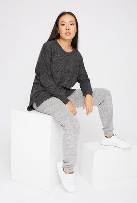 Soft Oversized Dolman Pajama Long Sleeve