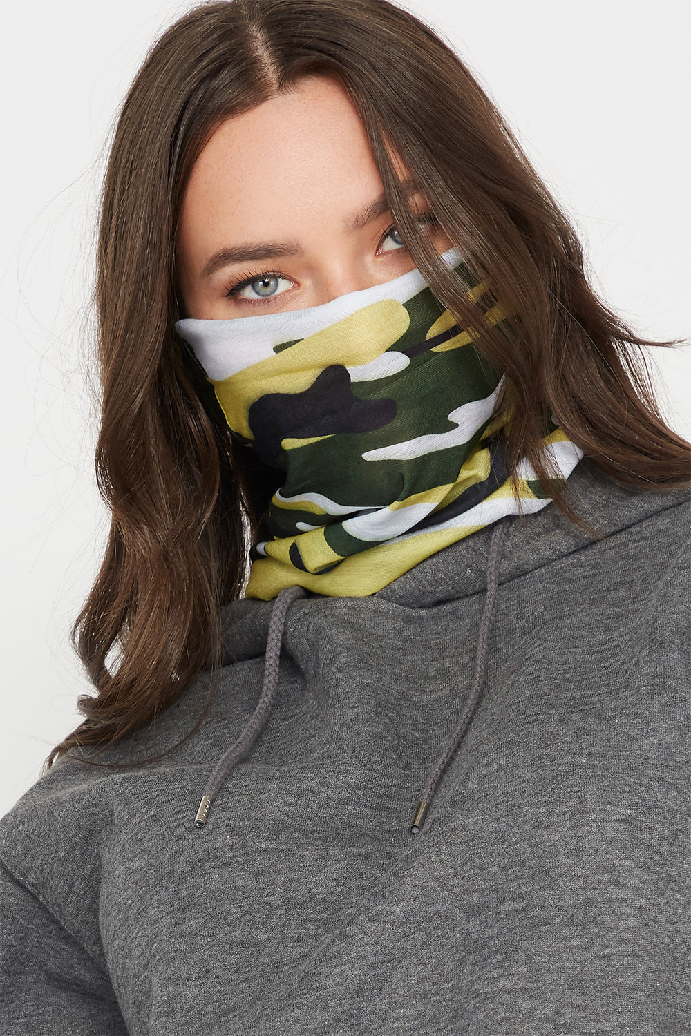 Camo Multi Use Protective Face Cover Camouflage