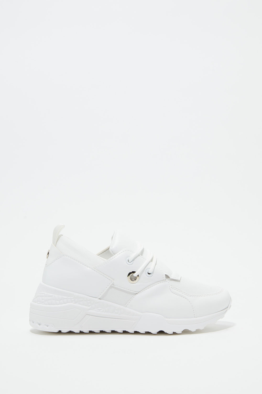 Chunky Platform Dad Sneakers White