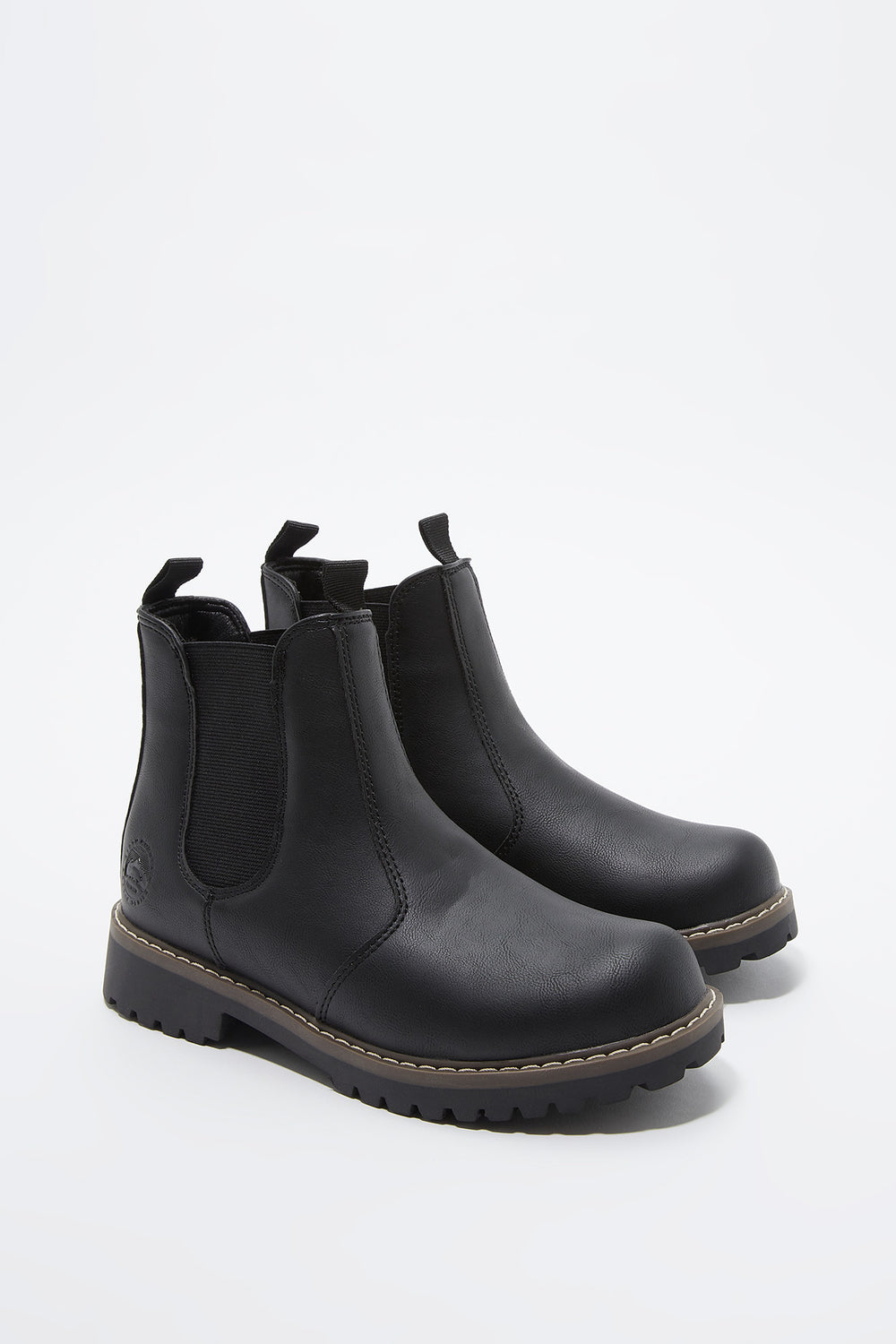 Chelsea Gore Ankle Boot Black