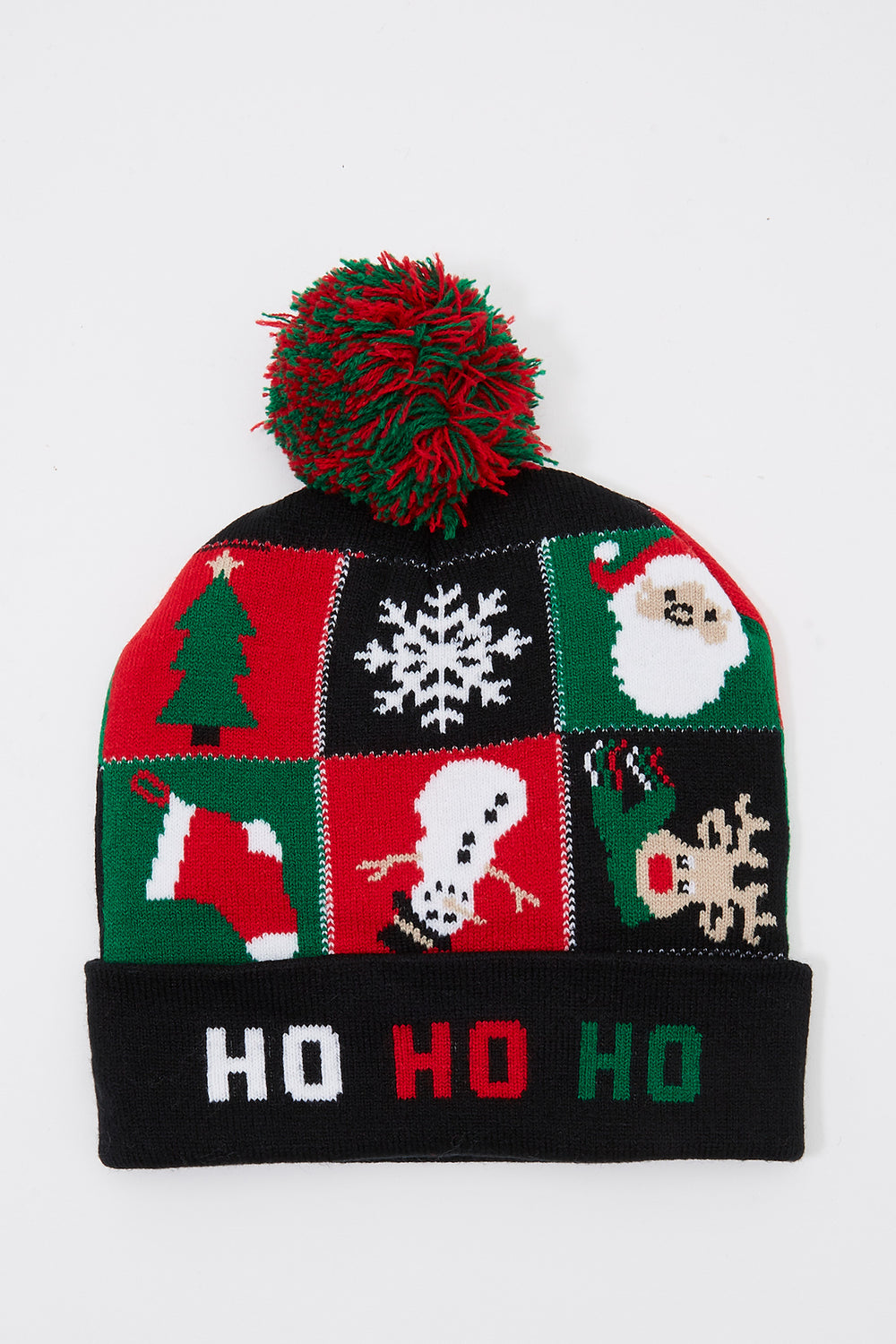 Christmas Pom Pom Beanie Assorted
