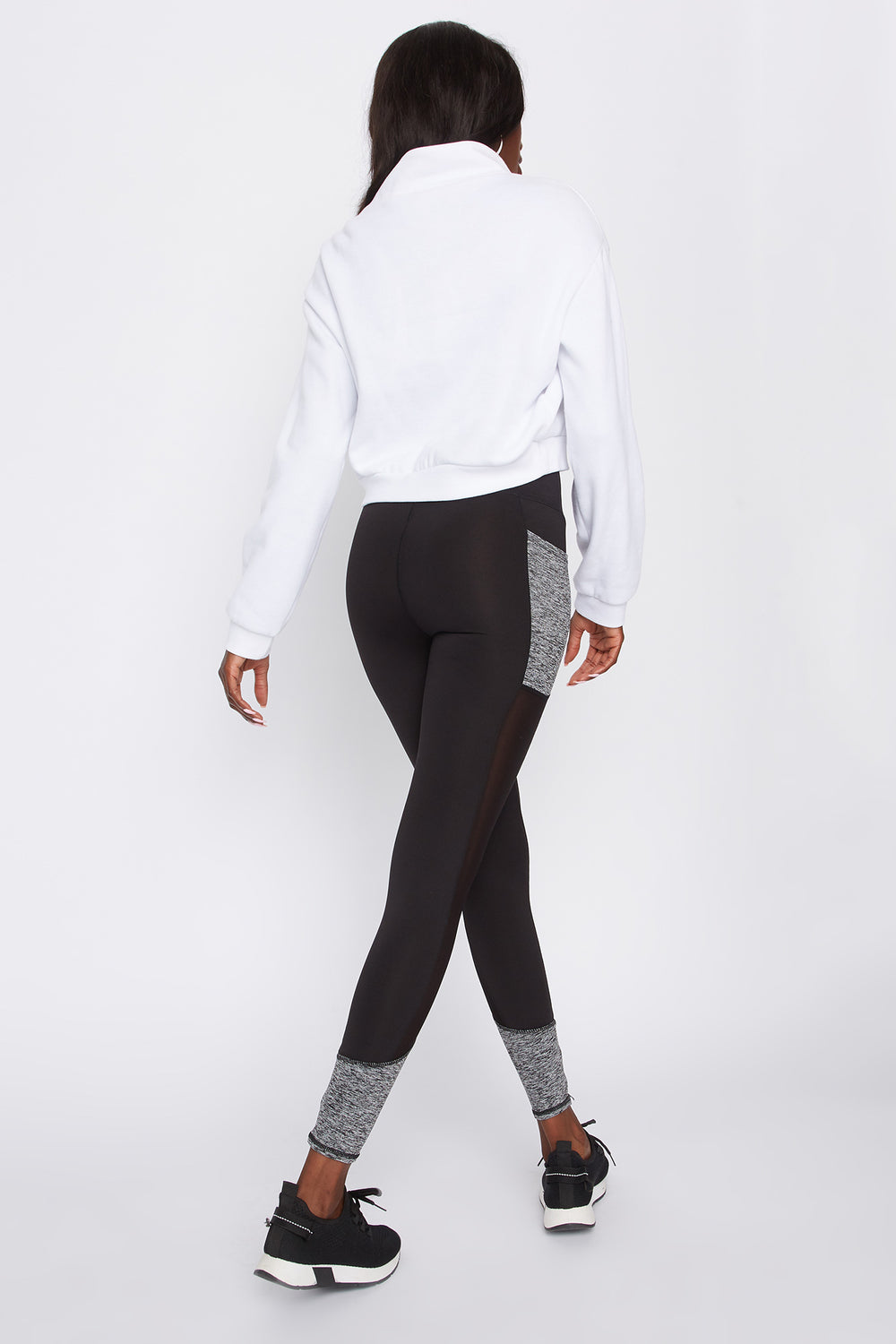 Infinite Mesh Side Active Legging Multi