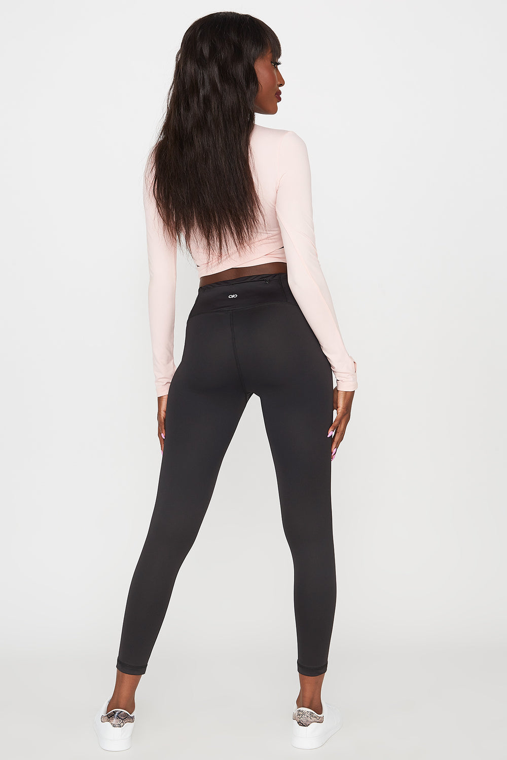 Infinite High-Rise Pocket Active Legging Black