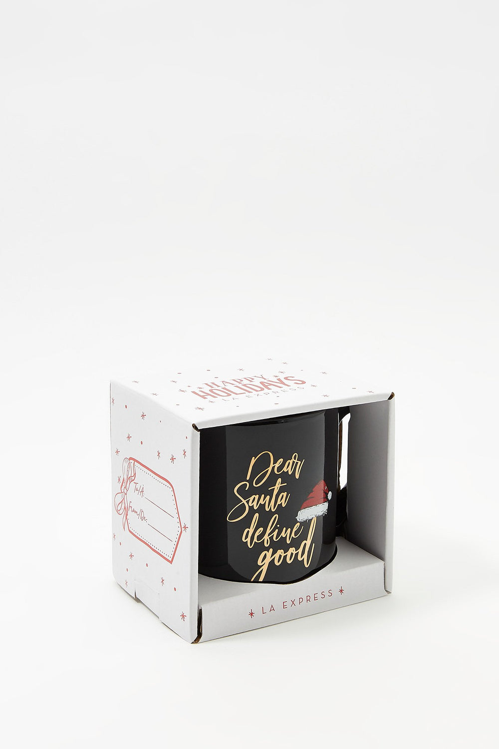 Christmas Boxed Mug Gift Black