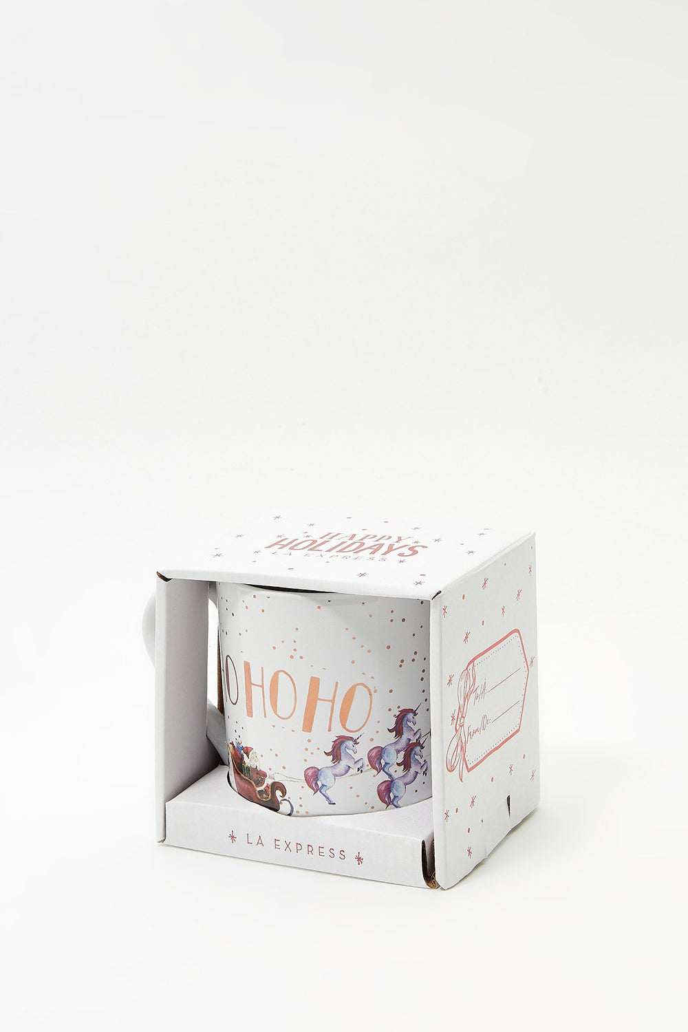 Christmas Boxed Mug Gift White